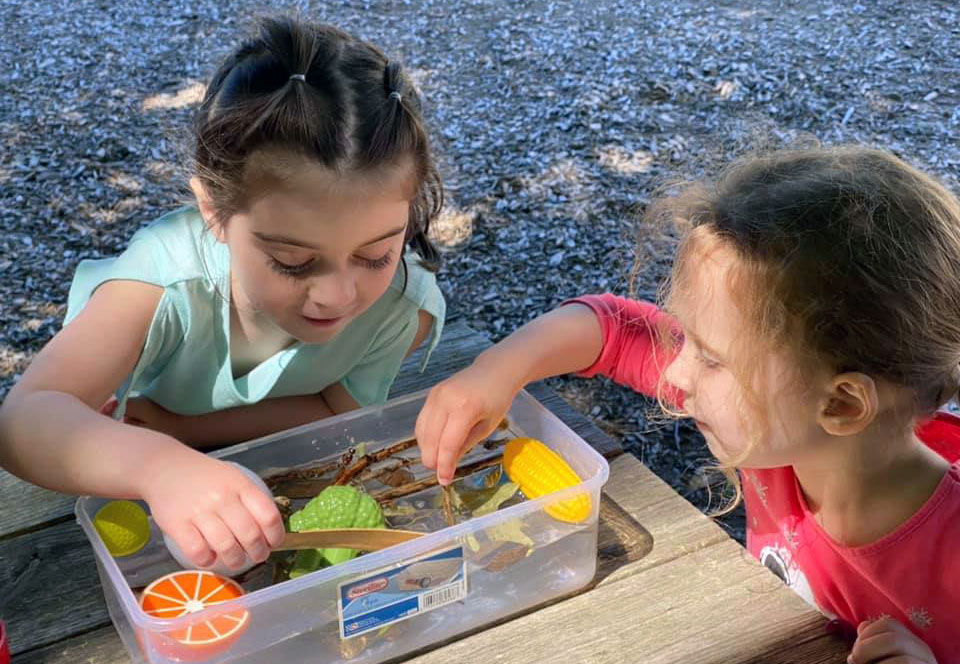 Children Explore Their Natural Outdoor Classrooms Every Day